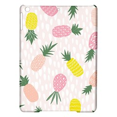Pineapple Rainbow Fruite Pink Yellow Green Polka Dots Ipad Air Hardshell Cases by Mariart