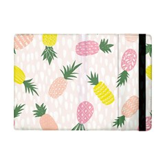 Pineapple Rainbow Fruite Pink Yellow Green Polka Dots Ipad Mini 2 Flip Cases by Mariart