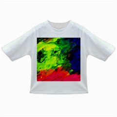 Neon Rainbow Green Pink Blue Red Painting Infant/toddler T Shirts