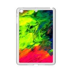Neon Rainbow Green Pink Blue Red Painting Ipad Mini 2 Enamel Coated Cases by Mariart
