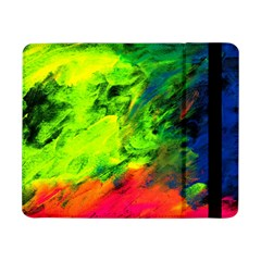 Neon Rainbow Green Pink Blue Red Painting Samsung Galaxy Tab Pro 8 4  Flip Case by Mariart