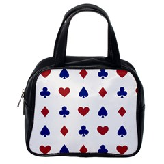 Playing Cards Hearts Diamonds Classic Handbags (one Side) by Mariart
