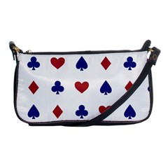 Playing Cards Hearts Diamonds Shoulder Clutch Bags