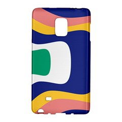 Rainbow Pink Yellow Bluw Green Rainbow Galaxy Note Edge by Mariart