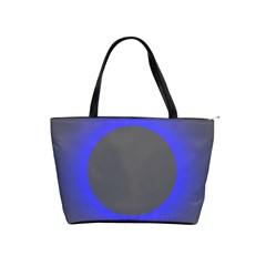 Pure Energy Black Blue Hole Space Galaxy Shoulder Handbags by Mariart