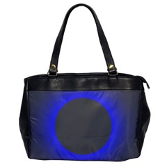 Pure Energy Black Blue Hole Space Galaxy Office Handbags by Mariart