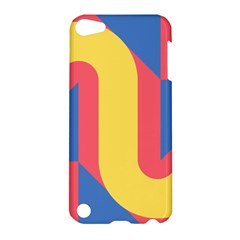 Rainbow Sign Yellow Red Blue Retro Apple Ipod Touch 5 Hardshell Case by Mariart