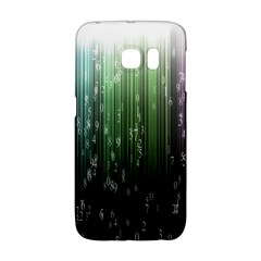 Numerical Animation Random Stripes Rainbow Space Galaxy S6 Edge by Mariart