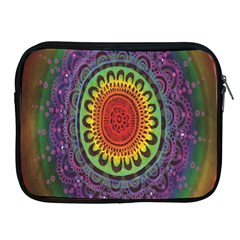 Rainbow Mandala Circle Apple Ipad 2/3/4 Zipper Cases by Mariart