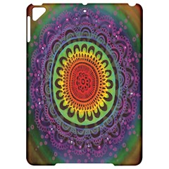 Rainbow Mandala Circle Apple Ipad Pro 9 7   Hardshell Case