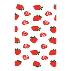 Red Fruit Strawberry Pattern Shower Curtain 48  X 72  (small)  by Mariart