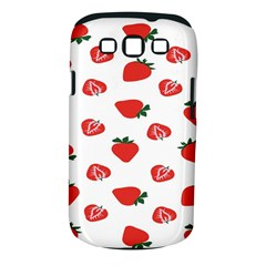 Red Fruit Strawberry Pattern Samsung Galaxy S Iii Classic Hardshell Case (pc+silicone) by Mariart