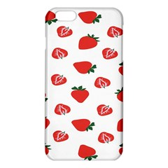 Red Fruit Strawberry Pattern Iphone 6 Plus/6s Plus Tpu Case by Mariart