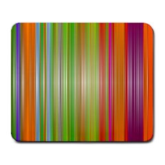 Rainbow Stripes Vertical Colorful Bright Large Mousepads by Mariart