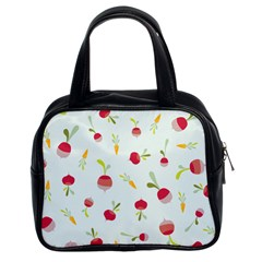 Root Vegetables Pattern Carrots Classic Handbags (2 Sides) by Mariart
