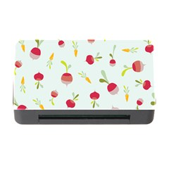 Root Vegetables Pattern Carrots Memory Card Reader With Cf by Mariart
