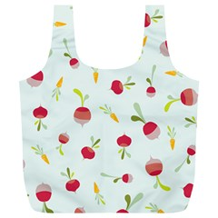 Root Vegetables Pattern Carrots Full Print Recycle Bags (l)  by Mariart