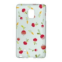 Root Vegetables Pattern Carrots Galaxy Note Edge by Mariart