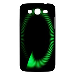 Rotating Ring Loading Circle Various Colors Loop Motion Green Samsung Galaxy Mega 5 8 I9152 Hardshell Case  by Mariart