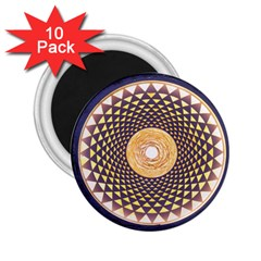 Sahasrara Blue 2 25  Magnets (10 Pack)  by Mariart