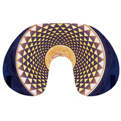 Sahasrara Blue Travel Neck Pillows by Mariart
