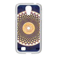 Sahasrara Blue Samsung Galaxy S4 I9500/ I9505 Case (white) by Mariart