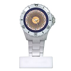 Sahasrara Blue Plastic Nurses Watch