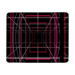 Retro Neon Grid Squares And Circle Pop Loop Motion Background Plaid Samsung Galaxy Tab Pro 8 4  Flip Case by Mariart