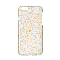 Rosette Flower Floral Apple Iphone 6/6s Hardshell Case by Mariart