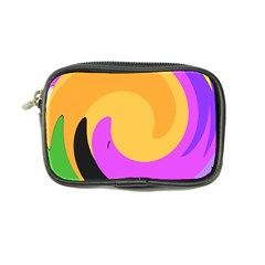 Spiral Digital Pop Rainbow Coin Purse by Mariart