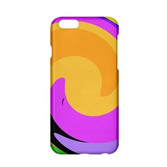 Spiral Digital Pop Rainbow Apple Iphone 6/6s Hardshell Case by Mariart