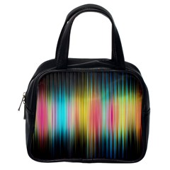 Sound Colors Rainbow Line Vertical Space Classic Handbags (one Side) by Mariart
