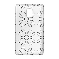 Squid Flower Floral Polka Dots Sunflower Galaxy Note Edge by Mariart