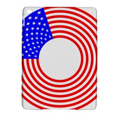 Stars Stripes Circle Red Blue Ipad Air 2 Hardshell Cases by Mariart