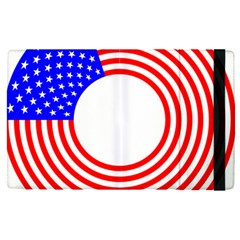 Stars Stripes Circle Red Blue Apple Ipad Pro 9 7   Flip Case by Mariart