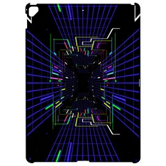 Seamless 3d Animation Digital Futuristic Tunnel Path Color Changing Geometric Electrical Line Zoomin Apple Ipad Pro 12 9   Hardshell Case