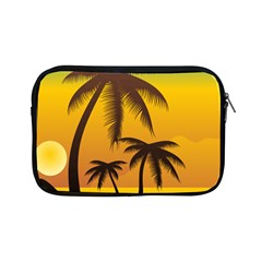 Sunset Summer Apple Ipad Mini Zipper Cases by Mariart