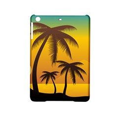 Sunset Summer Ipad Mini 2 Hardshell Cases by Mariart