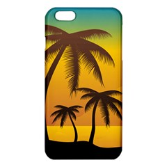 Sunset Summer Iphone 6 Plus/6s Plus Tpu Case by Mariart