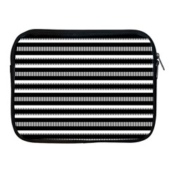 Tribal Stripes Black White Apple Ipad 2/3/4 Zipper Cases by Mariart