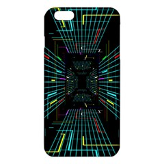 Seamless 3d Animation Digital Futuristic Tunnel Path Color Changing Geometric Electrical Line Zoomin Iphone 6 Plus/6s Plus Tpu Case by Mariart