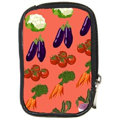Vegetable Carrot Tomato Pumpkin Eggplant Compact Camera Cases by Mariart
