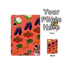 Vegetable Carrot Tomato Pumpkin Eggplant Playing Cards 54 (mini)