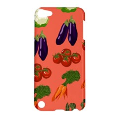 Vegetable Carrot Tomato Pumpkin Eggplant Apple Ipod Touch 5 Hardshell Case by Mariart