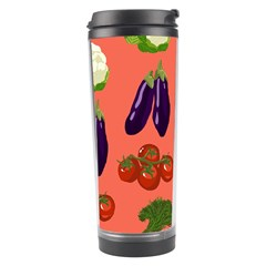 Vegetable Carrot Tomato Pumpkin Eggplant Travel Tumbler by Mariart