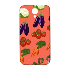 Vegetable Carrot Tomato Pumpkin Eggplant Samsung Galaxy S4 I9500/i9505  Hardshell Back Case by Mariart