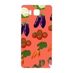 Vegetable Carrot Tomato Pumpkin Eggplant Samsung Galaxy Alpha Hardshell Back Case by Mariart