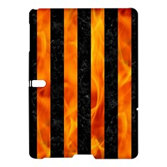 Stripes1 Black Marble & Fire Samsung Galaxy Tab S (10 5 ) Hardshell Case  by trendistuff