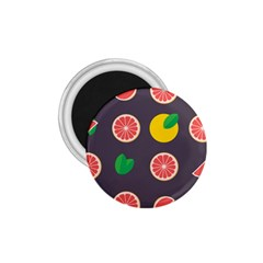 Wild Textures Grapefruits Pattern Lime Orange 1 75  Magnets by Mariart
