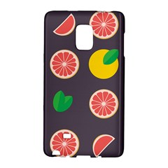 Wild Textures Grapefruits Pattern Lime Orange Galaxy Note Edge by Mariart